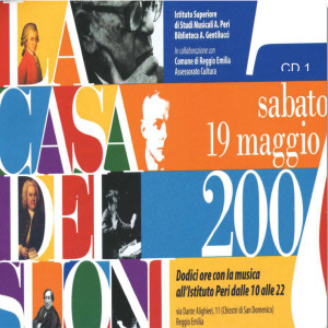 Con liuto, CD attached to the book La casa dei suoni, Istituto Superiore di Studi Musicali Achille Peri, 2007.